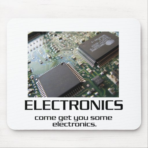 Come Get You Some Electronics Mousepad