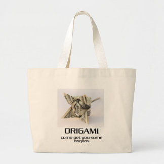 Come Get You Some Origami Canvas Bag
