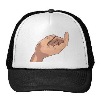 Come Here Hand Sign Gesture Trucker Hat