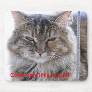 Come here little mouse! mouse pad