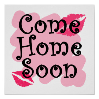 come home soon poster