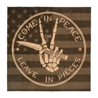 Come in Peace Coasters