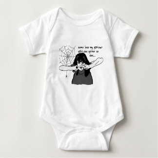 Come into my parlour Spider Baby... Baby Bodysuit