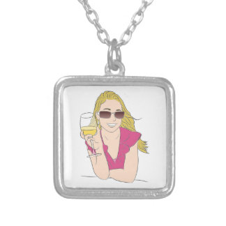 COME JOIN ME SILVER PLATED NECKLACE