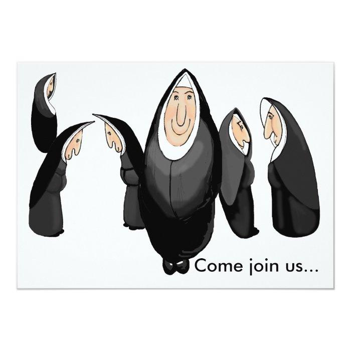 Come join us 13 cm x 18 cm invitation card