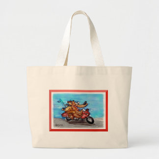 come on babe, let's ride! tote bag