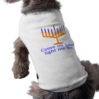 Come On Baby, Light My Fire Sleeveless Dog Shirt