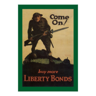 Come On! - buy more Liberty Bonds Poster