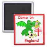 Come on England Magnets