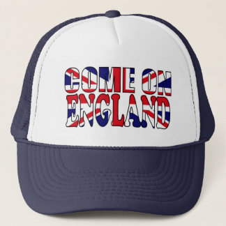 Come on England UK Flag Union Jack hat
