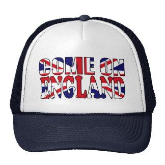 Come on England UK Flag Union Jack olympics hat
