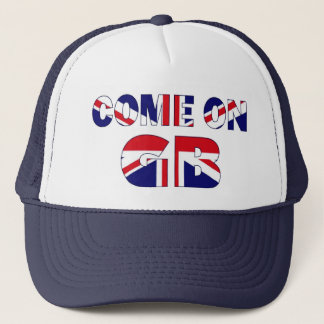 Come on GB UK Flag Union Jack hat