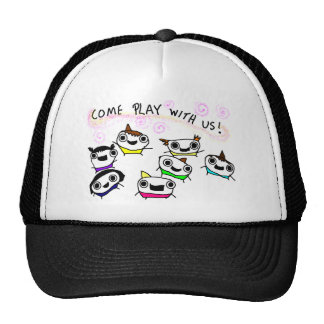 Come play with us hats