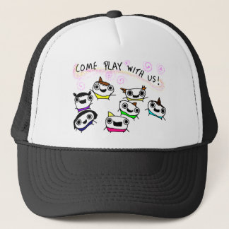 """Come play with us"" Trucker Hat"