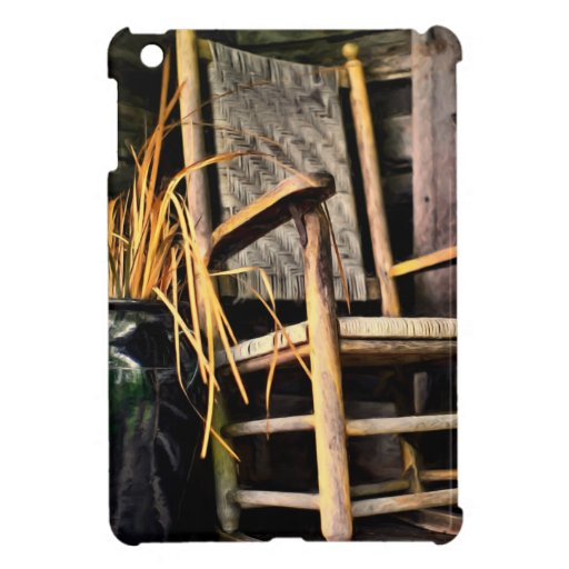 Come Set A Spell Rocking Chair iPad Mini Case