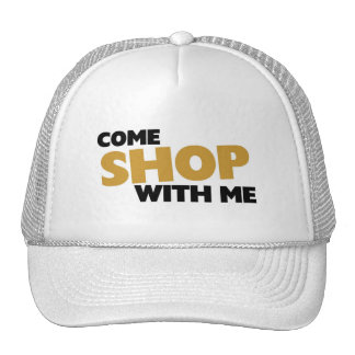 Come shop with me mesh hats