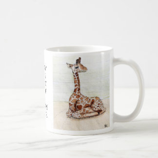 """Come Sit With Me' Giraffe Cup"