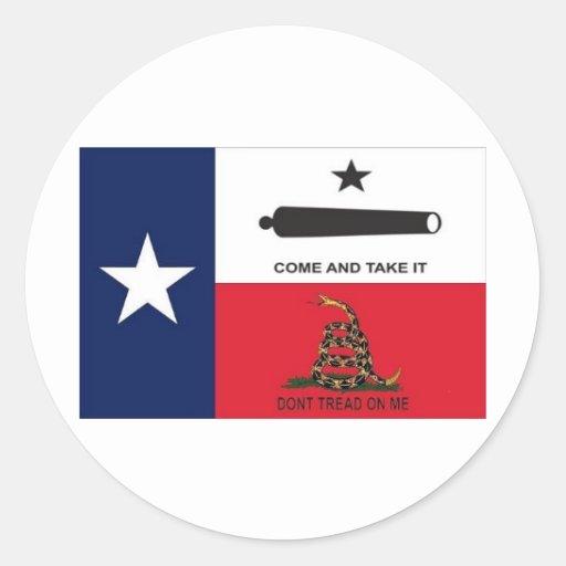 come take it stickers