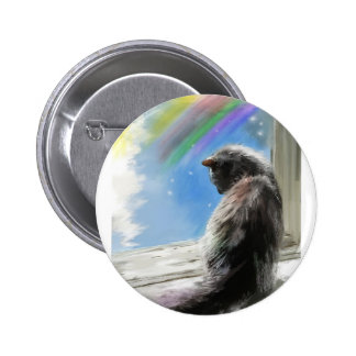 come this way 6 cm round badge