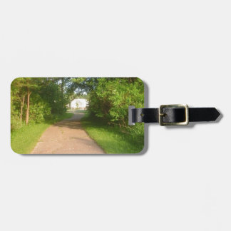 COME THIS WAY LUGGAGE TAG