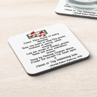 Come Thou Fount Of Every Blessing Drink Coasters