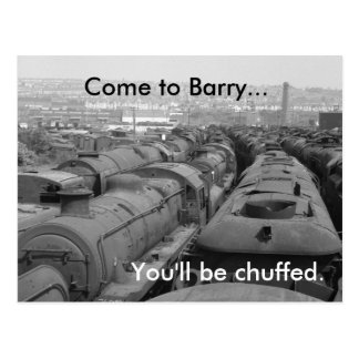 Come to Barry Postcard