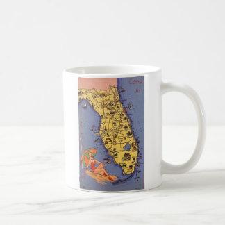 Come to Florida! 1938 Coffee Mug