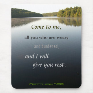 Come to Me, Christian Mouse Mat