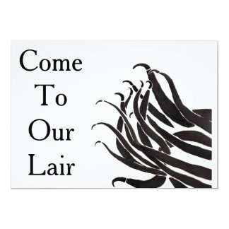 Come to Our Lair Tentacle Invitation