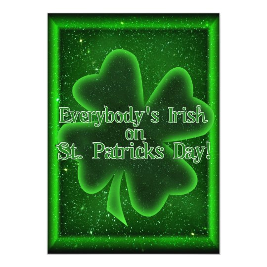 Come To Our St Patrick's Day Get Together! Card