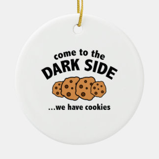 Come To The Dark Side ... We Have Cookies Christmas Ornament