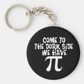 Come to the Dork Side...We have PI Basic Round Button Key Ring
