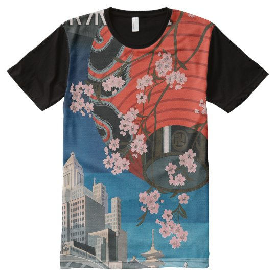 Come to Tokyo All-Over Print T-Shirt