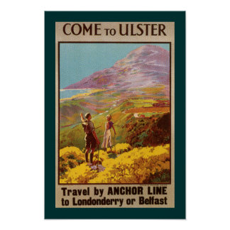 Come to Ulster (border) Poster