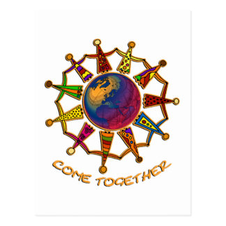 Come Together People Post Card