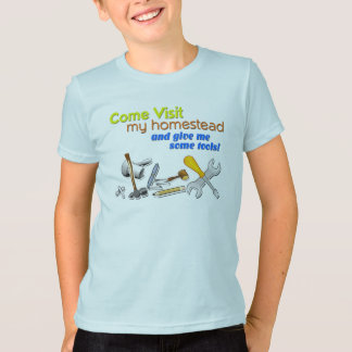 """""""Come Visit My Homestead"""" Game T-Shirt"""