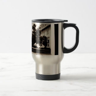 Come Visit Stainless Steel Travel Mug