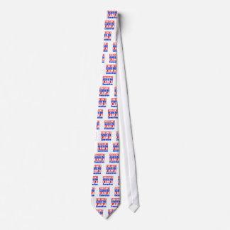 Comedian scare designs tie