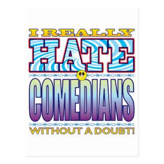 Comedians Hate Face Postcard