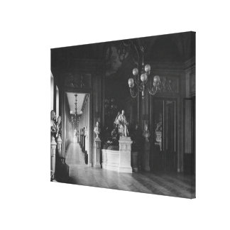 Comedie Francaise, view of the foyer Canvas Print