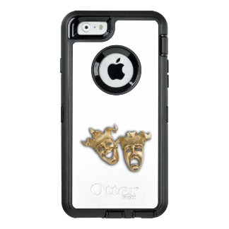 Comedy and Tragedy Theater Masks OtterBox Defender iPhone Case