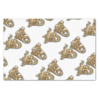 Comedy and Tragedy Theater Masks Tissue Paper