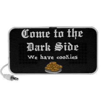 Comedy Come to the Dark Side iPod Speakers