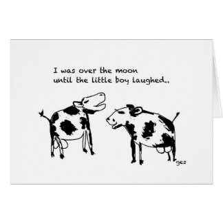 Comedy Cows Card
