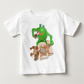 Comedy_frog_and_money_chest.png Baby T-Shirt