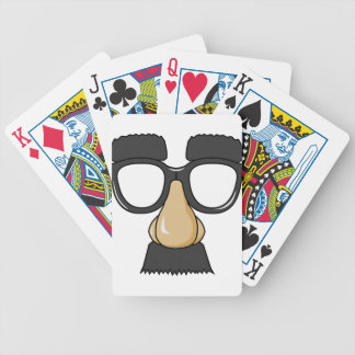 comedy funny glasses bicycle playing cards