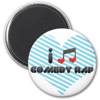 Comedy Rap Refrigerator Magnet