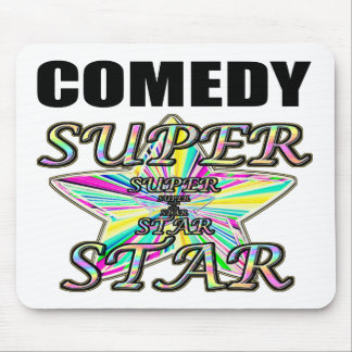 Comedy Superstar Mouse Pad