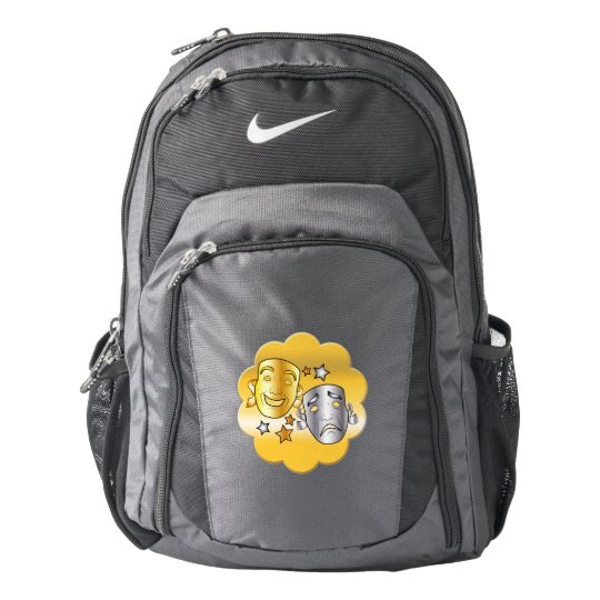 Comedy Tragedy Drama Masks Backpack