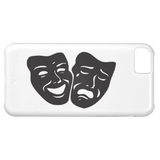 Comedy Tragedy Drama Theatre Masks iPhone 5C Cases